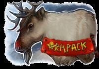 Adventskalender Rentier Orkpack Badger