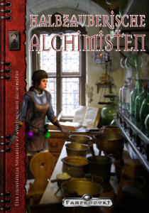 Halbzauberische Alchimisten Cover