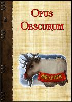 Opus Obscurum von Ralf Kurtsiefer