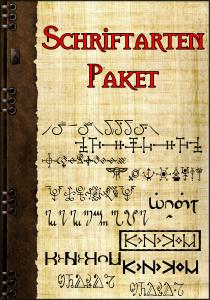 Schriftartenpaket Cover