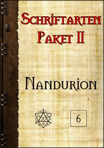 Schriftartenpaket II Cover