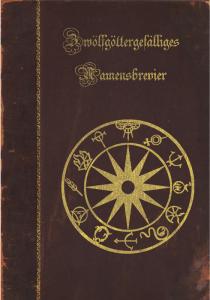 Zwölfgöttliches Namensbrevier Cover